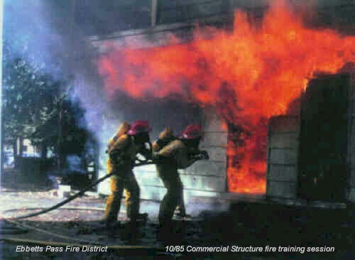 Chimney Fire Training For Firefighters